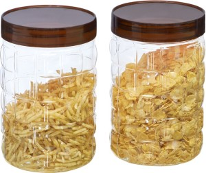 Steelo Steelo 2000ml x 2 pcs PET Container Set (Solitaire)  - 2000 ml Plastic Food Storage