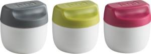 Fuel Condiment Set of 3 pieces  - 50 ml Polypropylene Multi-purpose Storage Container