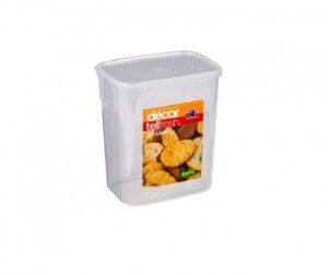 Decor Tellfresh Oblong Tall 3.0 L  - 3000 ml Plastic Food Storage