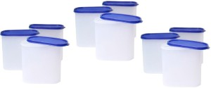Tallboy Mahaware( microwaveable safe) space saver Blue lid  - 1800 ml Polypropylene Food Storage