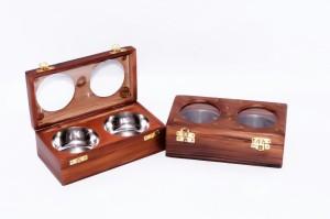 Univocean UNIV_046  - 400 ml Wooden Spice Container
