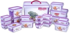 Princeware  - 12.6 L, 110 ml, 190 ml, 970 ml, 1.19 L, 260 ml, 730 ml, 1.81 L, 500 ml Plastic Multi-purpose Storage Container