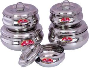 Aristo Houseware  - 250 ml, 1000 ml Stainless Steel Food Storage