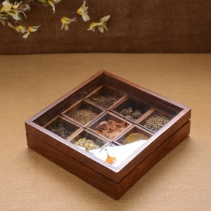 Unravel India  - 10 ml Wooden Spice Container
