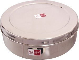 KCL Chapati Box  - 1500 ml Stainless Steel Multi-purpose Storage Container