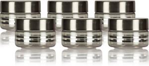 GPET Silver Line 50ml - Set of 6  - 50 ml Plastic Food Storage