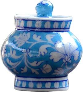 Blue Decor  - 150 ml Stoneware Tea, Coffee & Sugar Container