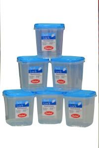 Chetan 6PC Softlock Plastic Kitchen Containers 1250ml  - 1250 ml Plastic Food Storage