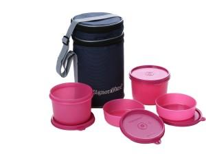 Signoraware Executive Lunch Box  - 180 ml, 450 ml Plastic Food Storage