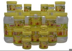 Sunpet Bonito Fr111720-24  - 2000 ml, 500 ml, 250 ml, 100 ml, 50 ml, 30 ml Plastic Multi-purpose Storage Container
