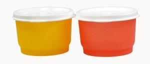 Tupperware snacks cups  - 100 ml Plastic Multi-purpose Storage Container