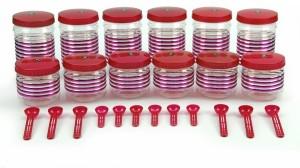 Sunshine Crystal  - 500 ml, 1000 ml Plastic Food Storage
