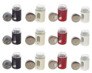 Howards Dozen Shaker Jars  - 1200 ml Glass Spice Container