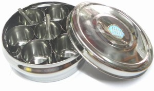 Aditya Info  - 2 L Stainless Steel Spice Container