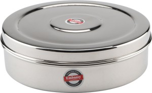 Embassy Chapati Box Deep (Size 11)  - 1100 ml Stainless Steel Multi-purpose Storage Container