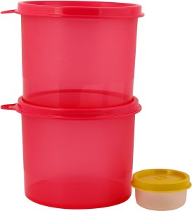 Tupperware store all 2 pic set of Pink color and midjet 30 ml  - 600 ml Polypropylene Multi-purpose Storage Container