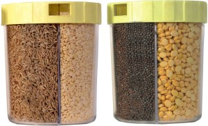 Kalyaniware  - 600 ml Plastic Spice Container