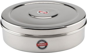 Embassy Chapati Box Deep (Size 12)  - 1700 ml Stainless Steel Multi-purpose Storage Container