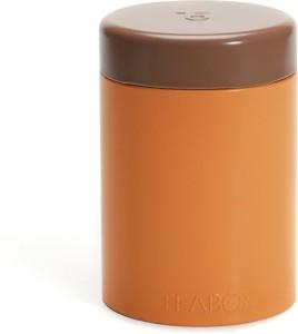 Teabox Round Tin  - 0.1 L Steel Tea, Coffee & Sugar Container