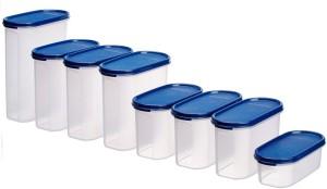 Signoraware  - 500 ml, 1100 ml, 1100 ml, 1100 ml, 1700 ml, 1700 ml, 1700 ml, 2300 ml Polypropylene Food Storage