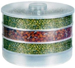 Giftmania Sprout Maker  - 1 L Plastic Food Storage