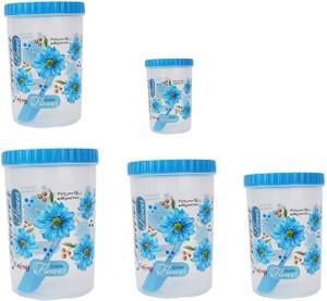 Stylobby  - 1000 ml, 1000 ml, 1200 ml, 1100 ml, 500 ml Polypropylene Multi-purpose Storage Container