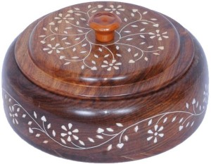 Univocean UNIV_018  - 400 ml Wooden Spice Container