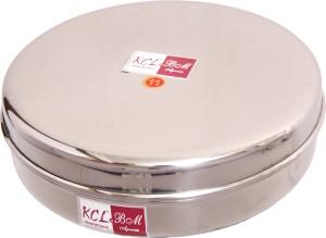 KCL Sleek Chapati Box  - 1800 ml Stainless Steel Multi-purpose Storage Container
