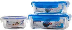 LUMINARC  - 1220 ml, 820 ml, 420 ml Glass Food Storage