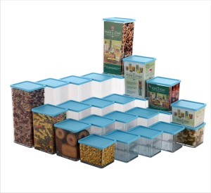 Disha Super saver pack of 24  - 1225 ml Polypropylene Food Storage