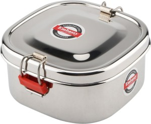 Embassy Square Food Pack (Size 4)  - 350 ml Stainless Steel Multi-purpose Storage Container