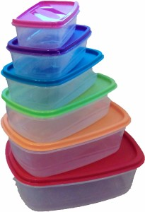 Princeware  - 275 ml, 475 ml, 725 ml, 1150 ml, 1800 ml, 2850 ml Plastic Multi-purpose Storage Container