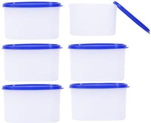 Tallboy Space Saver 6PC  - 600 ml Plastic Multi-purpose Storage Container