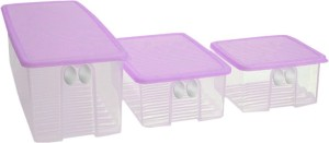 Tupperware Fridgesmart Set Small, Medium, Large  - 7.6 ml Polypropylene Food Storage