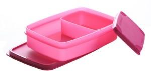 Signoraware Compact Lunch Box (Small)  - 600 ml, 150 ml Plastic Food Storage