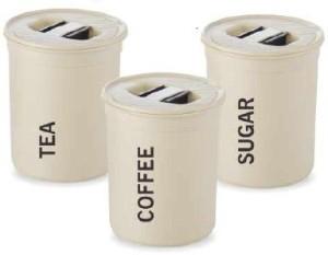 Plastic Tea Coffee Sugar Container