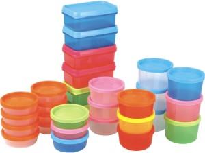 BMS Lifestyle Liza Store X  - 100 ml, 200 ml, 300 ml, 400 ml Plastic Multi-purpose Storage Container