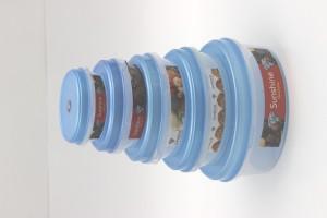 Sunshine Fresh Fine  - 2500 ml Plastic Food Storage