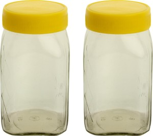 Ajanta HNG Masala / Spice Jar  - 400 ml Glass Spice Container