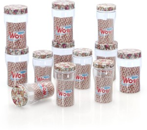 Steelo Wow  - 300 ml, 500 ml Plastic Food Storage