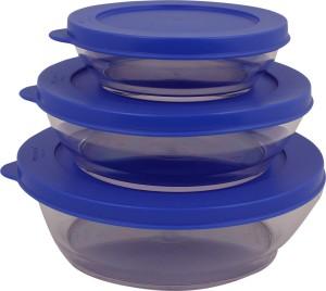 Tupperware  - 750 ml, 410 ml, 190 ml Plastic Multi-purpose Storage Container