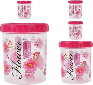 Stylobby  - 1200 ml, 2000 ml, 250 ml, 250 ml, 250 ml Polypropylene Multi-purpose Storage Container