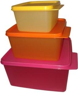 Tupperware  - 0.5 L, 1.2 L, 2.5 L Polypropylene Food Storage