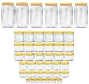 Sunpet BONITO 10SX13680-42  - 1500 ml, 250 ml, 200 ml, 150 ml, 100 ml, 50 ml, 30 ml Plastic Multi-purpose Storage Container