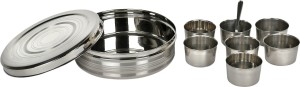 SHREE GAUTAM Airtight  - 1000 ml Stainless Steel Spice Container