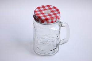 QUIKPIKK Mason jar  - 482 ml Glass Multi-purpose Storage Container
