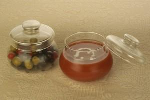 Borosil Gourmet  - 200 ml Glass Food Storage