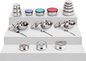 Kitchen Pro  - 600 ml Stainless Steel, Plastic Multi-purpose Storage Container