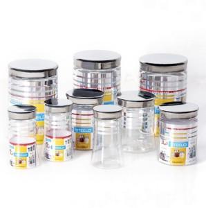 Steelo  - 1200 ml, 500 ml, 300 ml Plastic Food Storage