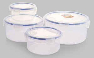 Celestial Designs  - 375 ml, 800 ml, 1300 ml, 2300 ml Plastic Food Storage